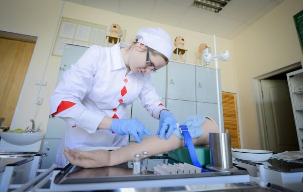 Как сделать санитарку