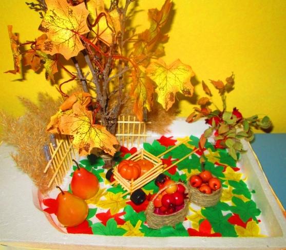 Краски осени поделки в детский сад 50