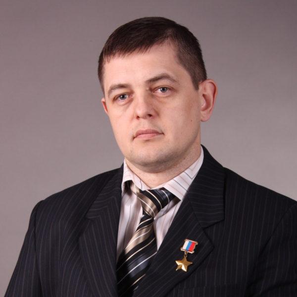 На фото офицер Игорь Задорожный