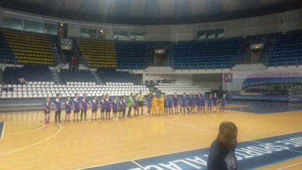 Юные футболисты из Воскресенского одержали победу в одной из игр финального этапа соревнований. Фото предоставил Сергей Ермаков
