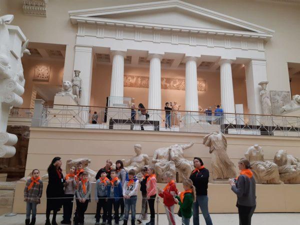 Ученики школы №2070 отправились на экскурсию в музей. Фото предоставила Мария Седова
