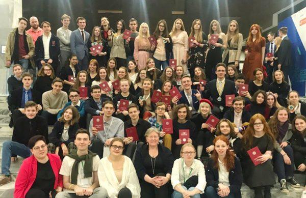 Почти 250 наград завоевала команда учеников школ города на Всероссийской олимпиаде. Фото: официальный сайт мэра Москвы