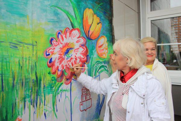 Представители Центра социального обслуживания посетили фестиваль. Фото: официальная страница Центра социального обслуживания «Московский» в социальных сетях