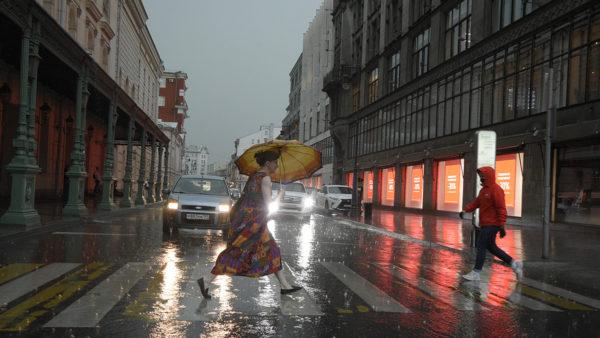 Москвичей предупредили об ухудшении погодных условий. Фото: архив