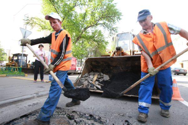 Ремонт дороги завершили на улице Весенняя. Фото: архив