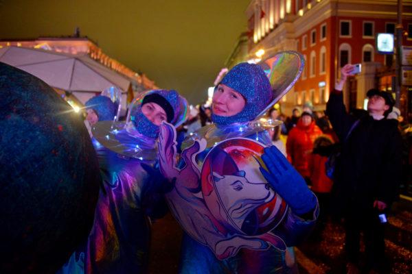 Почти 5 000 000 гостей посетили Москву в новогодние праздники. Фото: архив