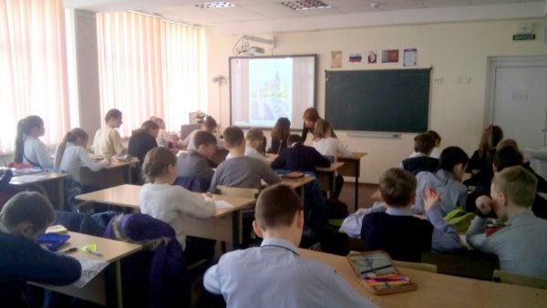Педагог «Радуги талантов» рассказал о художественно-эстетическом воспитании детей в школе №2070. Фото: школа №2070