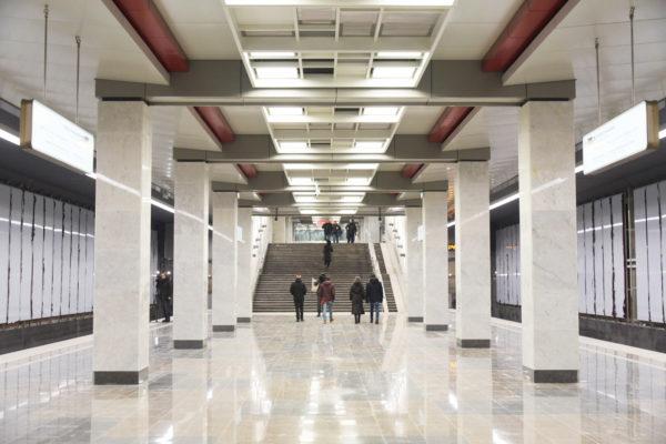 Десять станций метрополитена появятся в Новой Москве к 2023 году. Фото: архив