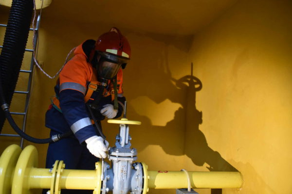 Работы по строительству новой линии газопровода завершились в Новой Москве. Фото: архив