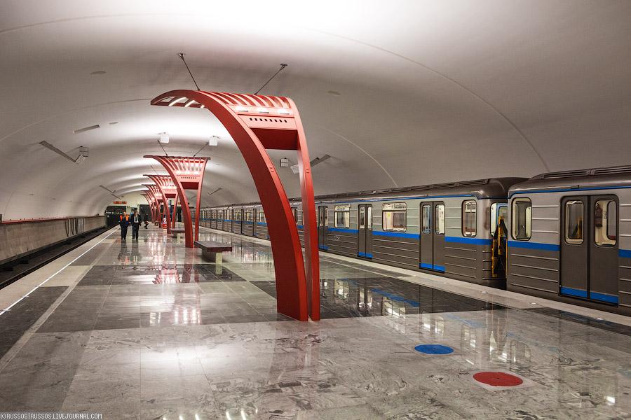 Москва новые станции метро фото