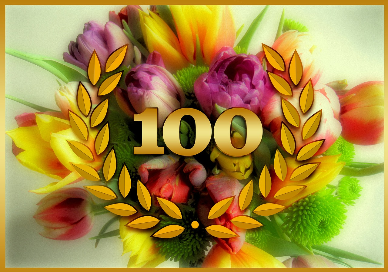 Для, картинки с 100 летним юбилеем