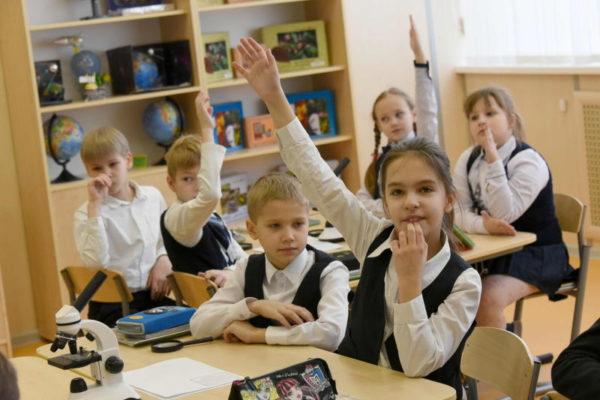 Школа №2070 проведет родительское собрание в интернете. Фото: архив