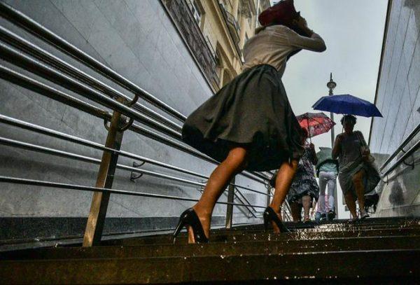Погода: в субботу в столице ожидают жару, грозу и порывистый ветер. Фото: архив
