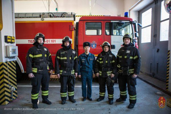 Свыше 15 пожарно-спасательных отрядов будут работать в Новой Москве. Фото предоставили в местной администрации